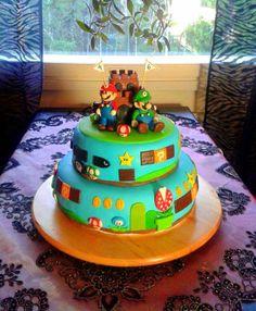 Super Mario - Katriina - Aina on aihetta leipoa kakku -kilpailun satoa 15.4. - 16.6.2014 https://www.facebook.com/leivojakoristele