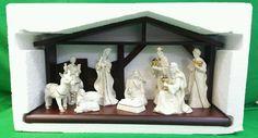 Mikasa Holiday Elegance Creche Nativity Set 1 piece New in Box Retired Rare #Mikasa