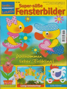 Super-süsse Fensterbilder - jana rakovska - Picasa Webalbumok Crafts To Make, Diy Crafts, Crochet Books, Tole Painting, Spring Crafts, Baby Quilts, Paper Cutting, Decoration, Paper Crafts