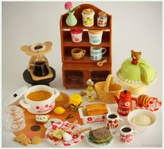Rilakkuma Nordic Kitchen Re-ment by Ebony Dragon