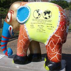 Title: Elephant Artist: Smike Käzner Location: Gefion Springvandet African Forest Elephant, Asian Elephant, All About Elephants, Elephas Maximus, Elephant Parade, Location, Mammals, Copenhagen, Owls