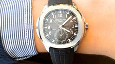 "Patek Philippe Aquanaut 5164 Review! - ""The perfect dress sports watch"""