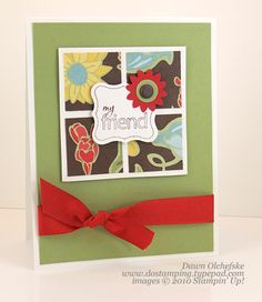 Perfect-Punches-Dawn using Stampin' Up! Perfect Punches