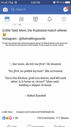 109 Best Rahul Kaushik images in 2018 | Tiny tales, Quotes