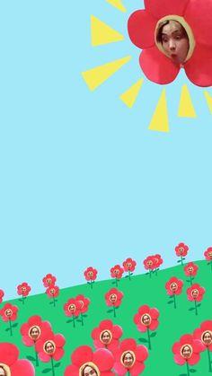 jhope wallpaper BTS Bangtan J-Hope sunshine flower lockscreen wall
