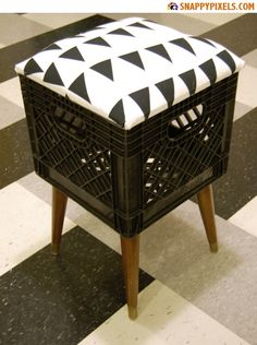 Milk Crate Projects   DIY for Used Milk Crates – 29 Upcycle Pictures