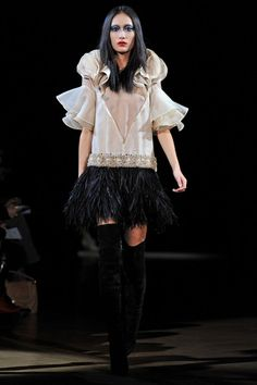 Givenchy Haute Couture SS10 (still love this)