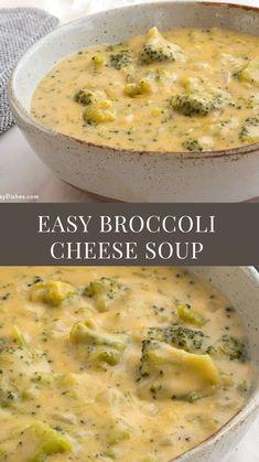 Chowder Recipes, Soup Recipes, Veggie Recipes, Dinner Recipes, Crockpot Recipes, Cooking Recipes, Delicious Recipes, Broccoli Cheese Soup, Gastronomia