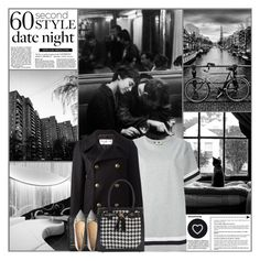 """60 Second Style: Last Minute Date"" by kittyfantastica ❤ liked on Polyvore featuring MSGM, Yves Saint Laurent, Alexander Wang, Dorothy Perkins, Seletti, women's clothing, women, female, woman and misses"
