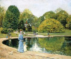 Central Park  Frederick Childe Hassam