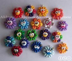 Its such a nice work this artisan makes with polymer clay...... i became a fan :)
