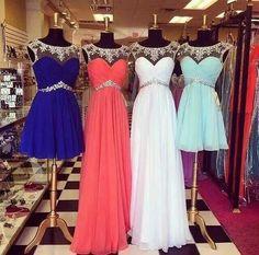 Lovely dresses (: