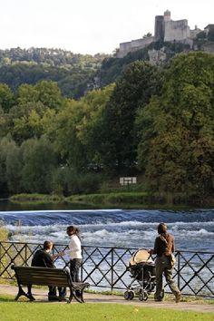Besançon. Rives du Doubs