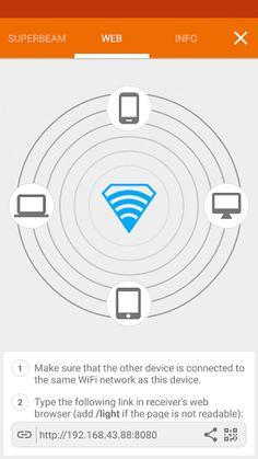 Superbeam Wifi Direct Share 5