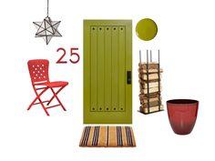Tis' the season to change up your #frontdoor look #hgtvmagazine // http://www.hgtv.com/design/decorating/design-101/front-door-design-ideas-pictures?soc=pinterest
