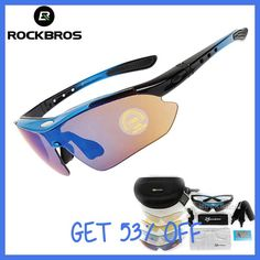 Hot! RockBros Polarized Cycling Sun Glasses Outdoor Sports Bicycle Glasses Bike Sunglasses 29g Goggles Eyewear 5 Lens
