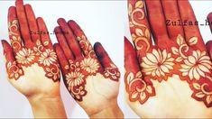 bharwa mehndi design with simple trick Mehndi Designs Front Hand, Rose Mehndi Designs, Henna Designs Feet, Modern Mehndi Designs, Mehndi Designs For Beginners, Mehndi Designs For Girls, Mehndi Design Photos, Wedding Mehndi Designs, Mehndi Designs For Fingers