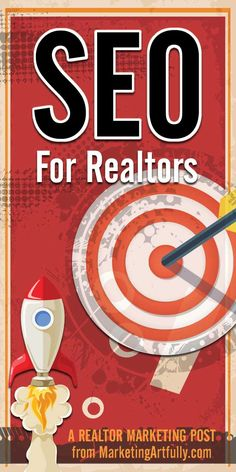 [ULTIMATE GUIDE] SEO for Realtors   Realtor Marketing... SEO for Realtors is a hot topic in Realtor Marketing circles. I spend a lot of time talking to Realtors who are totally confused about what Realtor SEO is today and how they can get their website to the top of the rankings on Google.