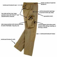 Men's VersaTac-Light Pant | Quick Dry, Lightweight Nylon Tactical Pants