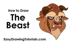 How to Draw The Beast from Beauty and the Beast