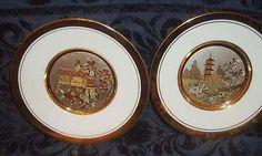Chokin Plates Ltd.Ed Hamilton Collection 3592HC 3011WC