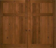 Knotty Cedar Garage Door no lites 8' x 7' available  Nick's building  $2195