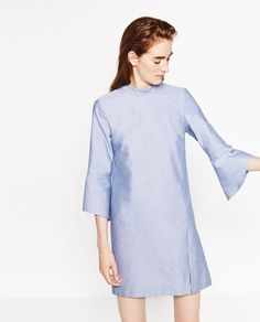 ZARA - WOMAN - FLOUNCE SLEEVE DRESS