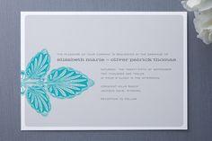 tortola wedding invitations
