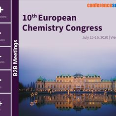 Euro Chemistry 2020 is a global standard conference which plays a great platform to discuss and learn about latest advancements and novel approaches in Organic Chemistry, Inorganic Chemistry, Analytical Chemistry, Materials Chemistry, and Green Chemistry: Green chemical principles, Physical Chemistry, Bio Chemistry, Theoretical Chemistry and Medicinal Chemistry.