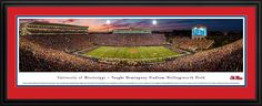 This Ole Miss Rebels Panoramic Picture - Vaught-Hemingway Stadium was taken by Blakeway Worldwide Panoramas and is available in many different formats!