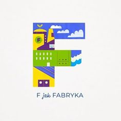 "F jak ... Factory in Polish means Fabryka: ""F is for FABRYKA"" , If you wish to learn more Polish words follow us on @otoabc  #otoabc #naukaczytania #literki #pokojdziecka #homeschool #home #przedszkole #alphabet #kidsroom #kidsposter #polishalphabet #illustration #drawing #kids #fun #nature #alphabetletters  #lettering  #letteringdaily #ecology #letterforms #interiorkids #doodle #kidsdecor #styleithappy"