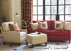 Classic Home Collection, Red. Image: calicocorners.com.