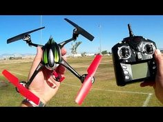 WLToys V636 Blast From The Past Sport Drone Flight Test Review