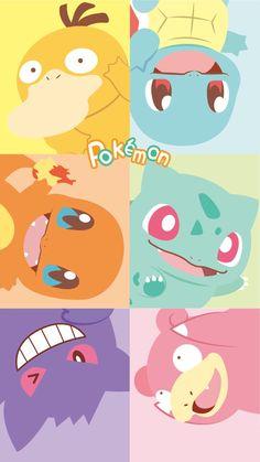 Cute Pokemon Wallpaper, Iphone Wallpaper Cat, Kawaii Wallpaper, Cute Cartoon Wallpapers, Animes Wallpapers, Pokemon Comics, Pokemon Fan Art, Cool Pokemon, Pokemon Logo