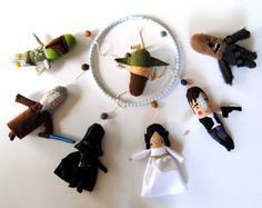 Star Wars Baby Mobile  Made to Order by PinkCheeksStudios on Etsy, $300.00 look @Sarah Windorski only $300 ;)