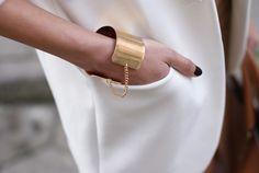 chained cuff