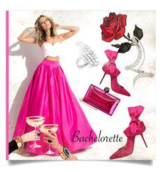 """Dress Rachel for the Bachelorette!"" by kari-c ❤ liked on Polyvore featuring Rachel Allan, Charlotte Olympia, Kurt Geiger, Yeprem, Anita Ko and Bachelorette"