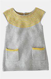 Mini Boden Knit Dress (Infant)