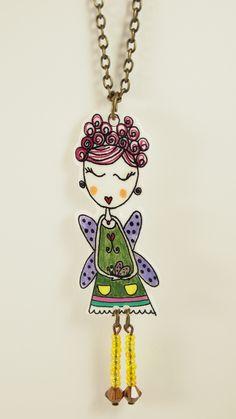 Collar muñeca de Las cositas de Piluca