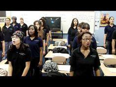 "BKHS Treble Choir-""Three Part Do-Re-Mi""...  good warm up for senior choir..  Locking in those harmonies. Kids need to really...... listen, especially unaccompanied, which is GOOD!"