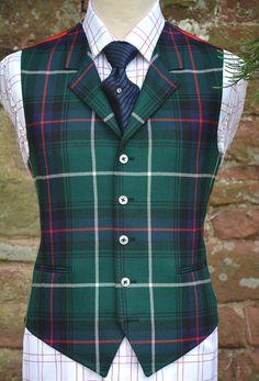 MacDonald of the Isles Tartan Waistcoat - Bookster Tailoring