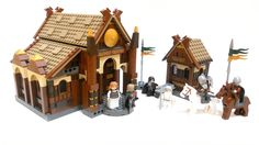 LEGO Lord of the Rings Set: Edoras/The Golden Hall