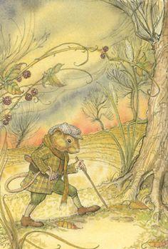 2005. Folio Society edition. Charles Sandwyk, illustrator. Kenneth Grahame…