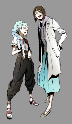 Death Parade   Nona & Quin   Anime   Fanart   SailorMeowMeow