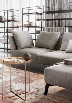 Modern style sofa design for living room bold contemporary composition that entwines the artistic colorful graphics Living Room Decor 2018, Living Room Trends, Living Room Grey, Living Room Modern, Living Room Sofa, Apartment Living, Living Room Designs, Living Rooms, Sofa Design