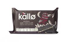 Kallo Organic Belgian Dark Chocolate Rice Cake Thins