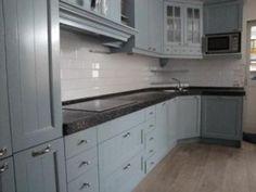 Keuken met kleine hoek erin