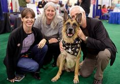 Some heroes of ours in the dog behavior world...Victoria Stilwell, Suzanne Clothier, and Ian Dunbar.