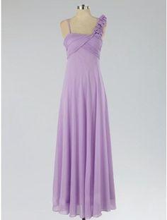 Off Shoulder lilac bridesmaid dress