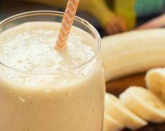 Smoothie banane-citron pour goûter spécial régime citron : http://www.fourchette-et-bikini.fr/recettes/recettes-minceur/smoothie-banane-citron-pour-gouter-special-regime-citron.html